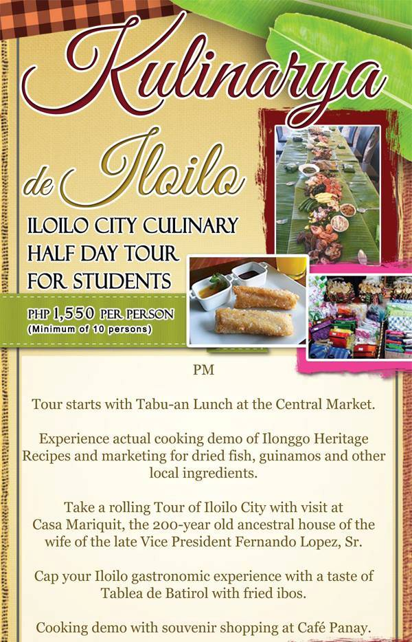 half-day culinary tour for students